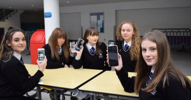 Corby School students launch 'Sky High' Snapchat filter to educate young people about drugs