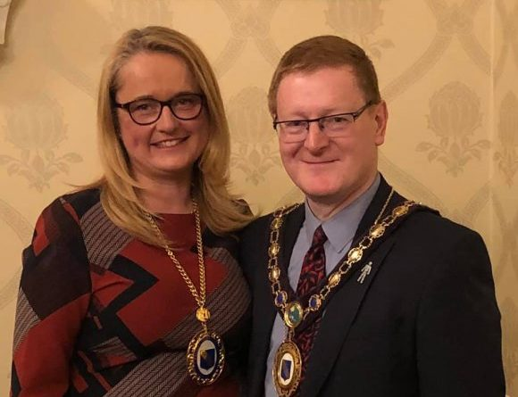 Raunds Mayor Cllr Richard Levell Gets Second Term