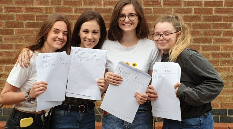 Raunds Manor School Sixth Form Success