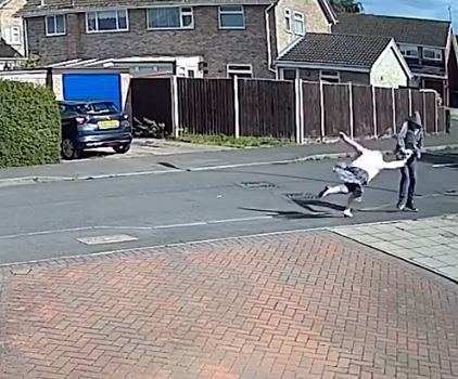 Shocking Video Shows 79 Year Old Woman Being Robbed in Kettering Causing a Broken Arm