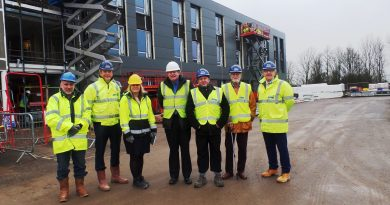 New East Northants Enterprise Centre in Raunds Reaches New Heights