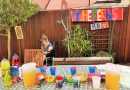 Local Carers Set up Garden Lockdown Pub